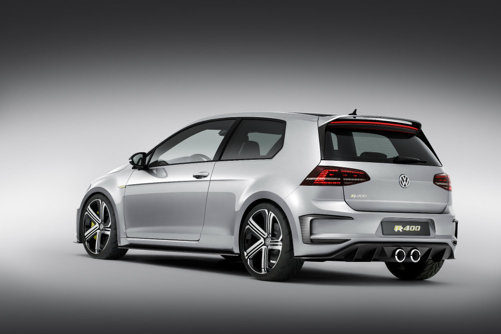 2016 VW Golf R400 differences from Golf R