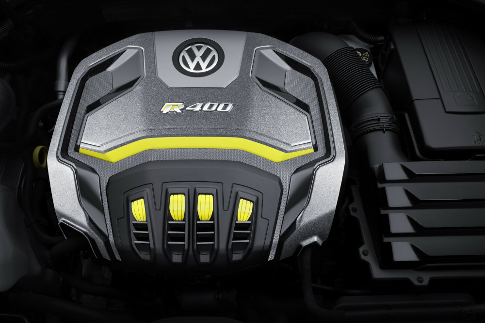 2016 VW Golf R400 Engine