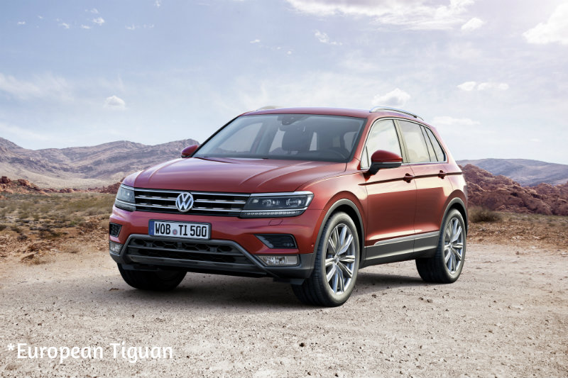 2018 VW Tiguan Hybrid: Rumor Or Reality? >> Rumors On 2017 Volkswagen Tiguan Specs And Features