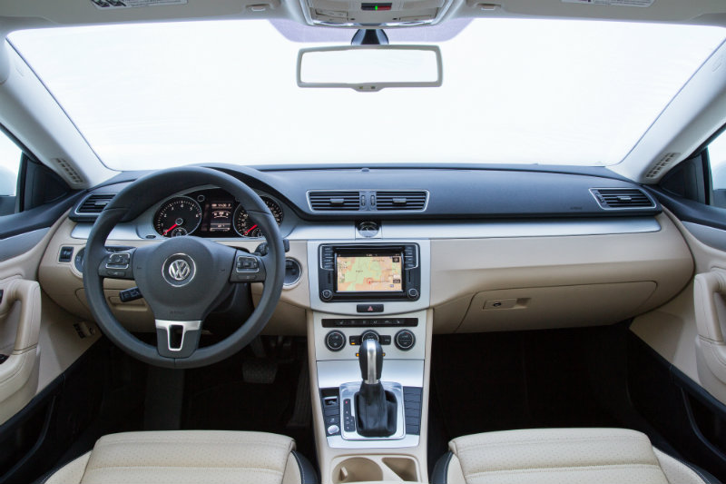 2016 VW CC interior