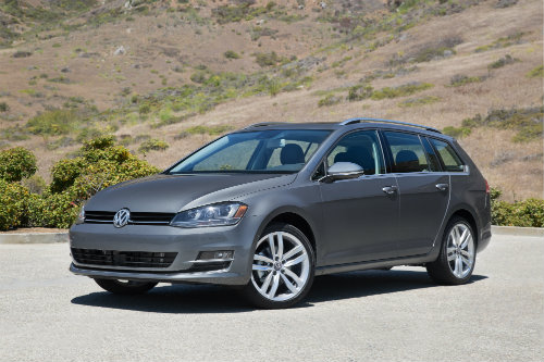 2016 VW Golf SportWagen Design