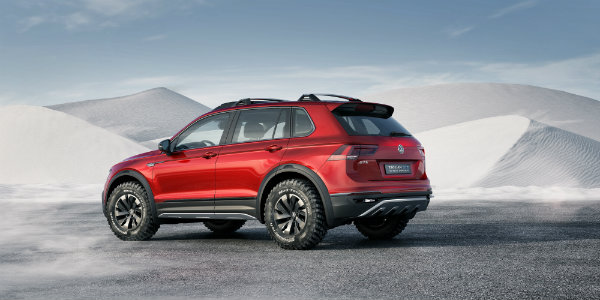 VW Tiguan GTE Active Off-Road