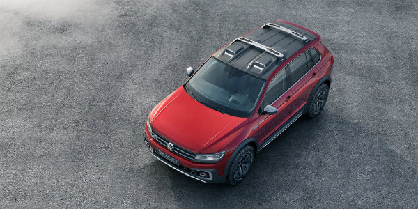 VW Tiguan GTE Active Roof