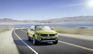 VW T-Cross Breeze Crossover SUV Convertible Top