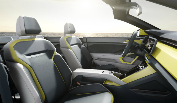 VW T-Cross Breeze Crossover SUV Front Seats