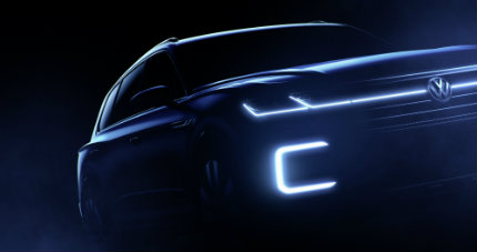VW Plug-in Hybrid illuminated grille