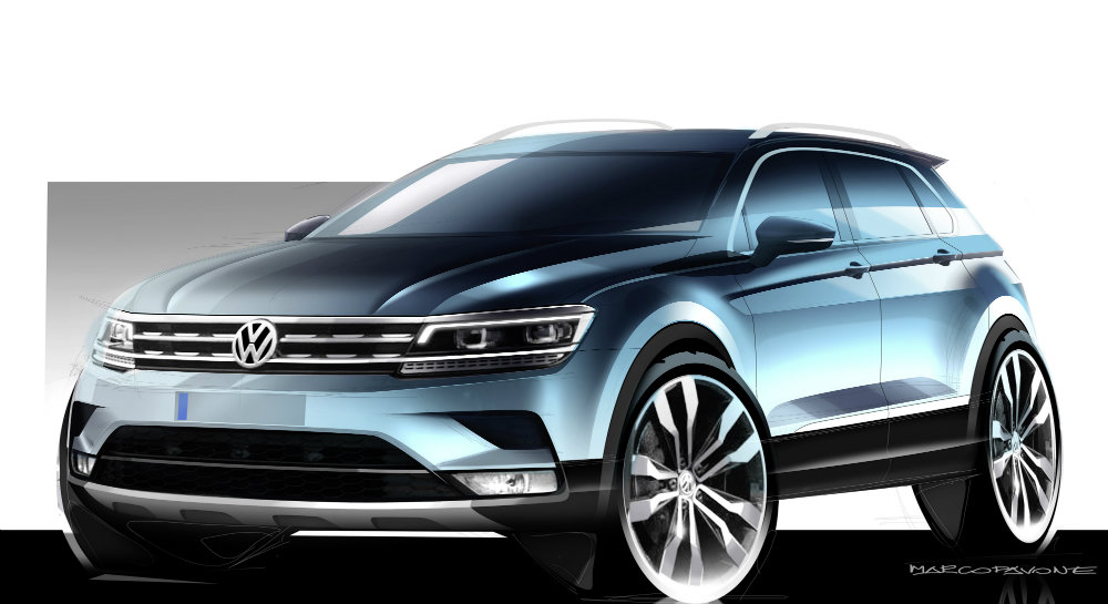 What Does Tiguan Mean >> 2017 Vw Tiguan U S Specs And Rumors