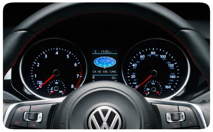 Miles you can drive the 2017 VW Jetta after fuel light turns on
