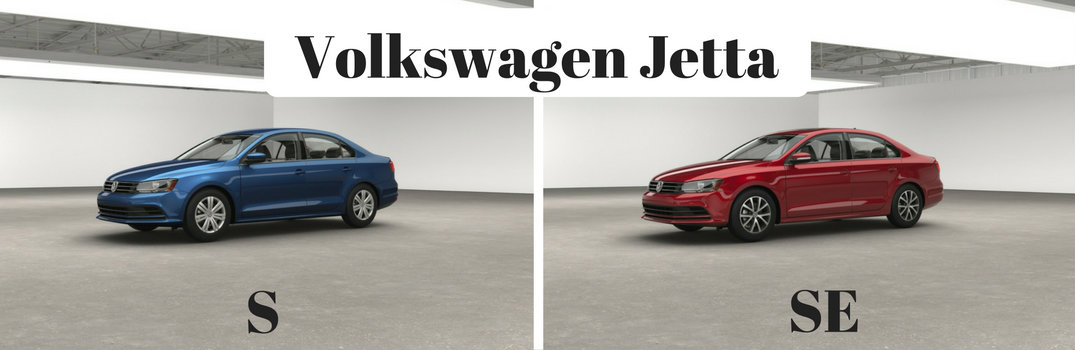 2017 volkswagen jetta s vs se trim options. Black Bedroom Furniture Sets. Home Design Ideas