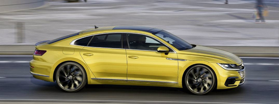 What engines are available in the 2018 VW Arteon?