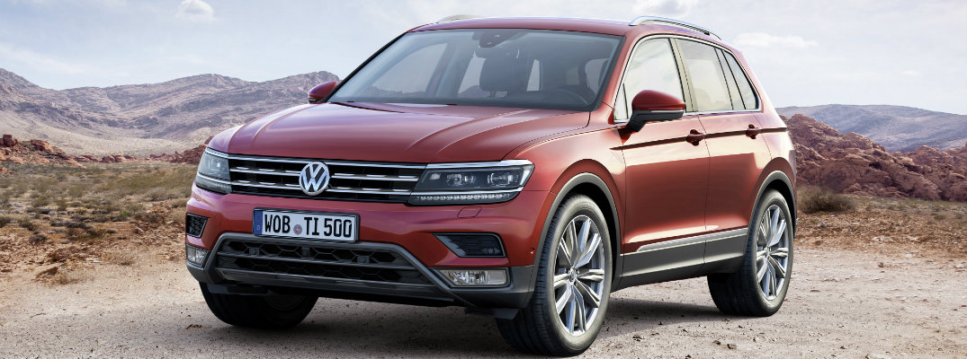 New Design and Specs In-Store for the 2017 Volkswagen Tiguan