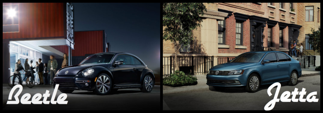 Differences Between 2016 VW Beetle and 2016 VW Jetta