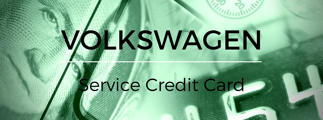 Benefits of the Volkswagen Service Credit Card