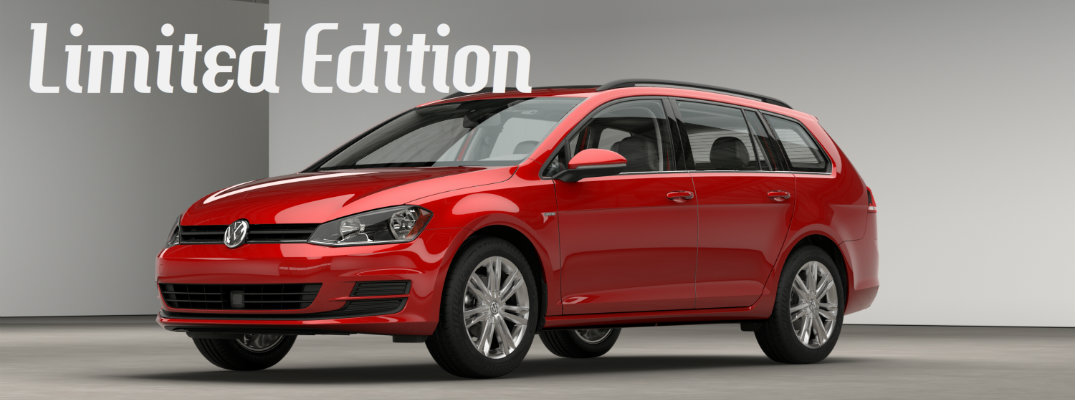 2016 VW Golf SportWagen Limited Edition Features