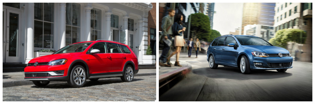 Difference Between 2017 VW Golf Alltrack vs Golf SportWagen