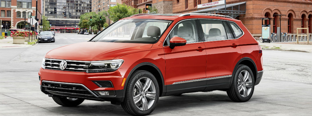 New Volkswagen Tiguan Adds More Interior Space