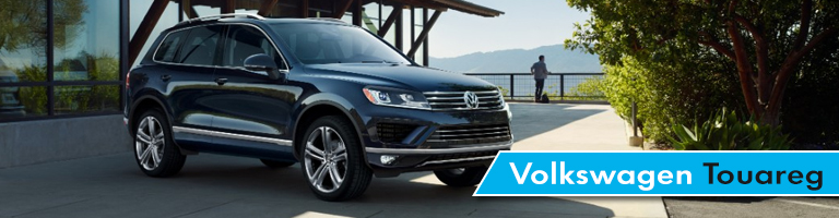 2017 Volkswagen Touareg parked in front of a house