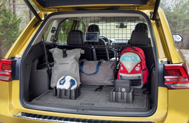 2018 vw atlas weekend edition cargo area