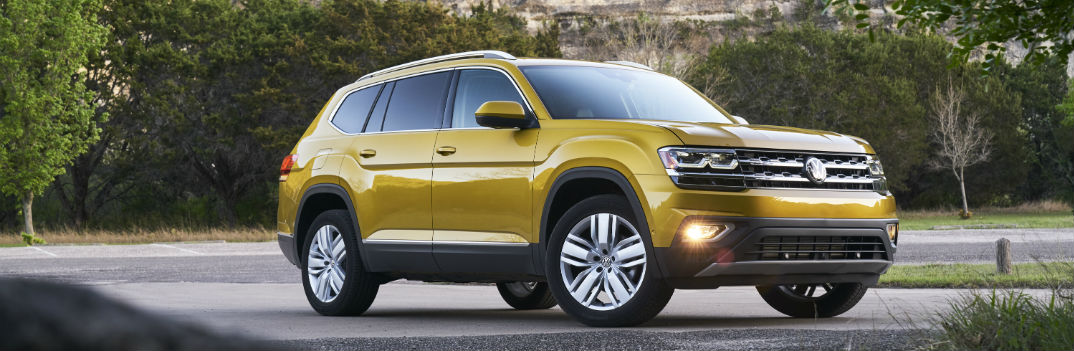 2018 Volkswagen Atlas Model Pricing