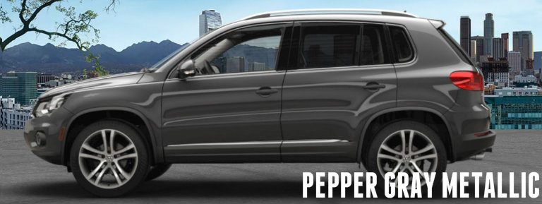 Pepper Gray 2017 Volkswagen Tiguan