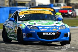Mazda 3 five consecutive wins