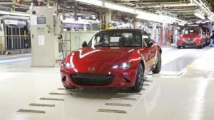 Mazda 3 miata goes into production
