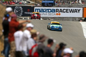 Mazda 4 team autosport fifth win