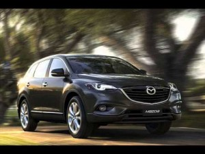 Mazda 3 mazda CX9 delivers plenty of power
