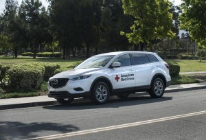 Mazda 4 donates to the red cross annual disaster program