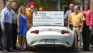 Mazda 4 dealerships team up for charity