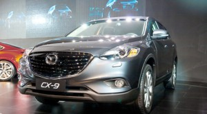 Mazda 4 teaseing upcoming CX-9 model