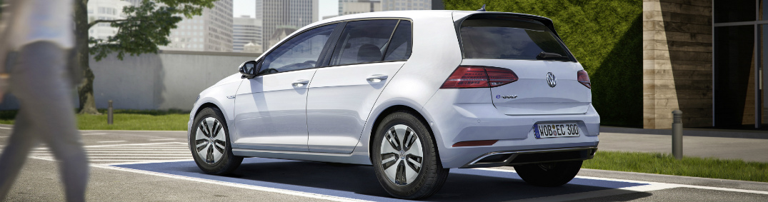 vw  golf electric driving range  charging time