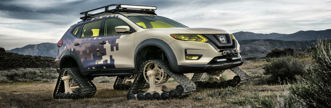 Nissan Rogue Trail Warrior Project Debut