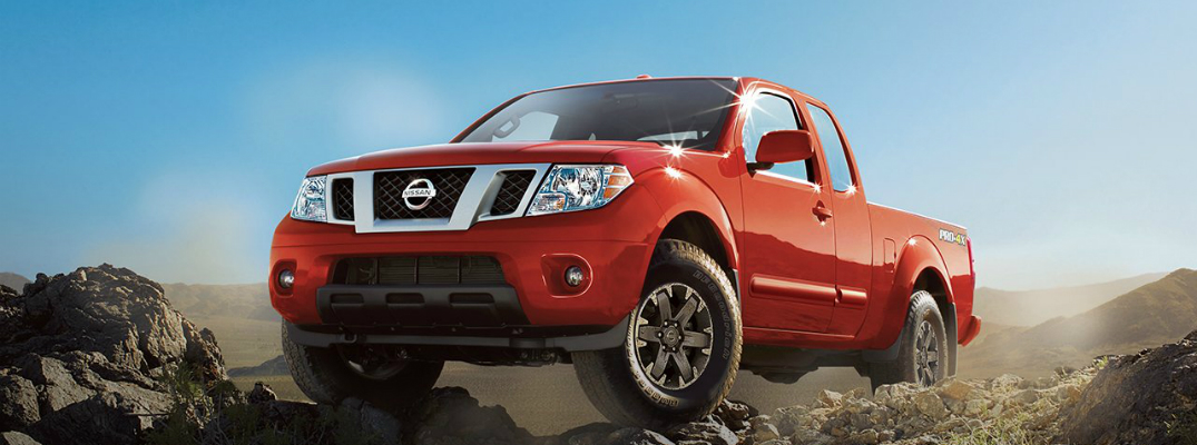 Features of the 2017 Nissan Frontier Front