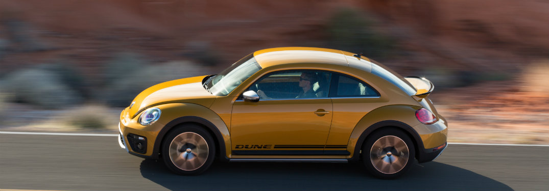 features of the VW Dune Beetle
