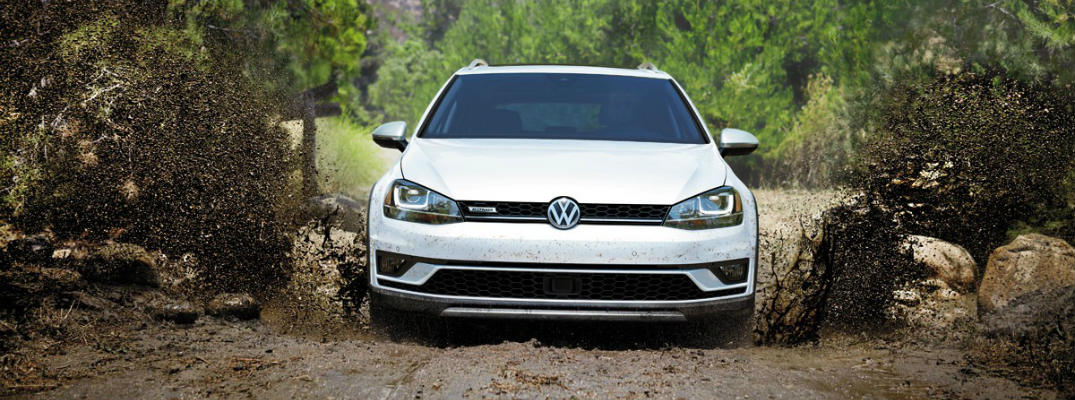 2017 VW Golf Alltrack manual transmission