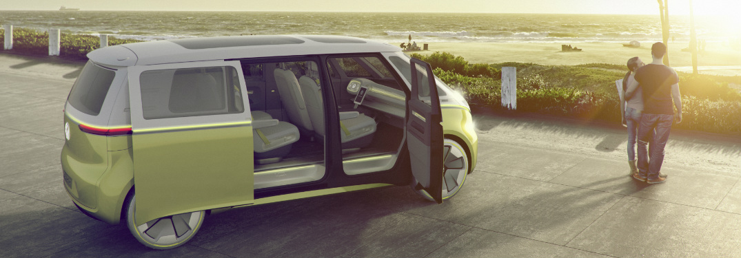 """Volkswagen I.D. Buzz Receives """"2017 Concept Truck of the Year"""" Award"""