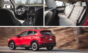 Mazda 2 CX-5 nimble and a thletic