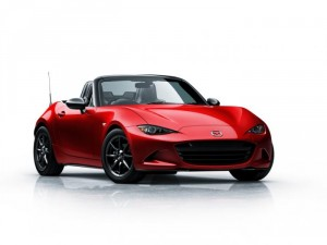 Mazda 1 first launch edition model auctioned off