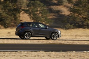 Mazda 1 CX-5 SUV redesigned and requipped