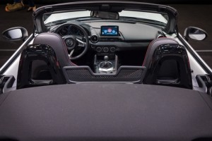 Mazda 2 easy to fold power top
