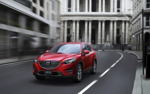 Mazda 2 CX-3 tested on the track
