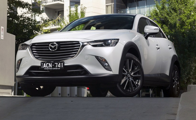 consumer reports the mazda cx 3 is filled with new premium technology. Black Bedroom Furniture Sets. Home Design Ideas