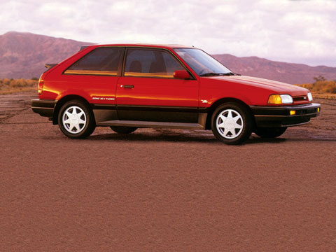 Remembering the Famous 1988 Mazda 323 GTX