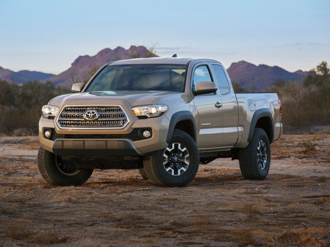 Toyota Looking to Redesign Tacoma for 2016  CardinaleWay Toyota
