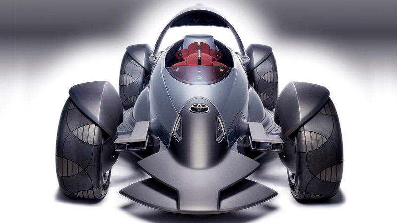 Toyota Planning Radical Open wheel Sports Car Concept