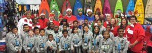 GMC 2 Cam Newton Uses GMC Vehicles to Spread Holiday Cheer