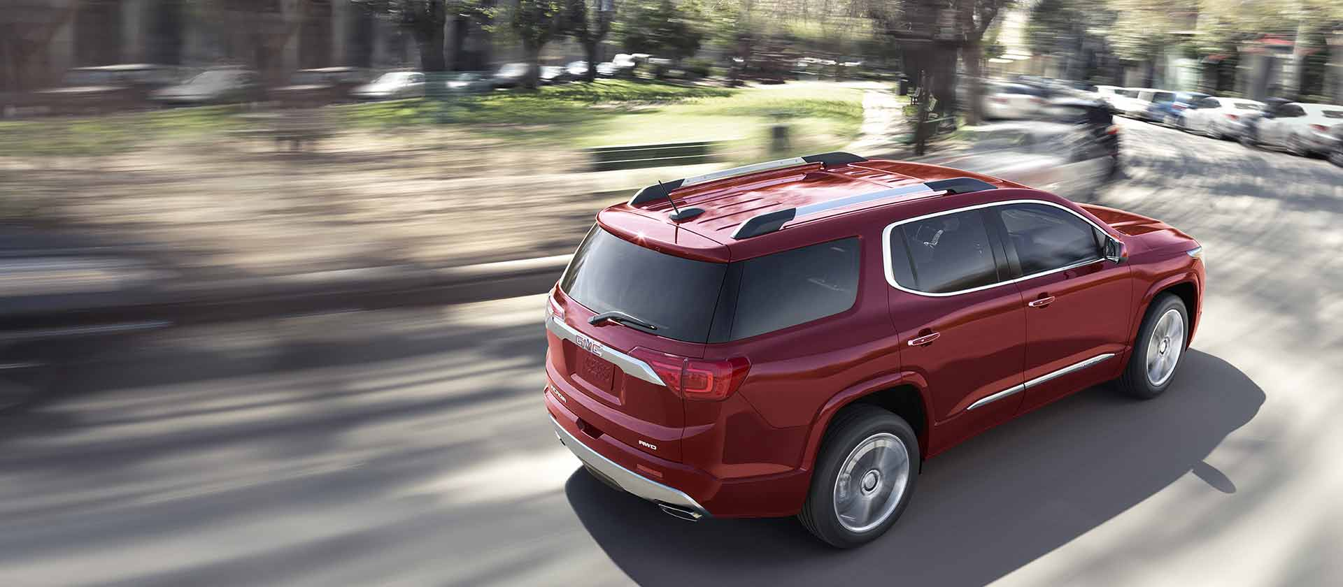Dimensions Of The 2017 Gmc Acadia Cardinale Gmc