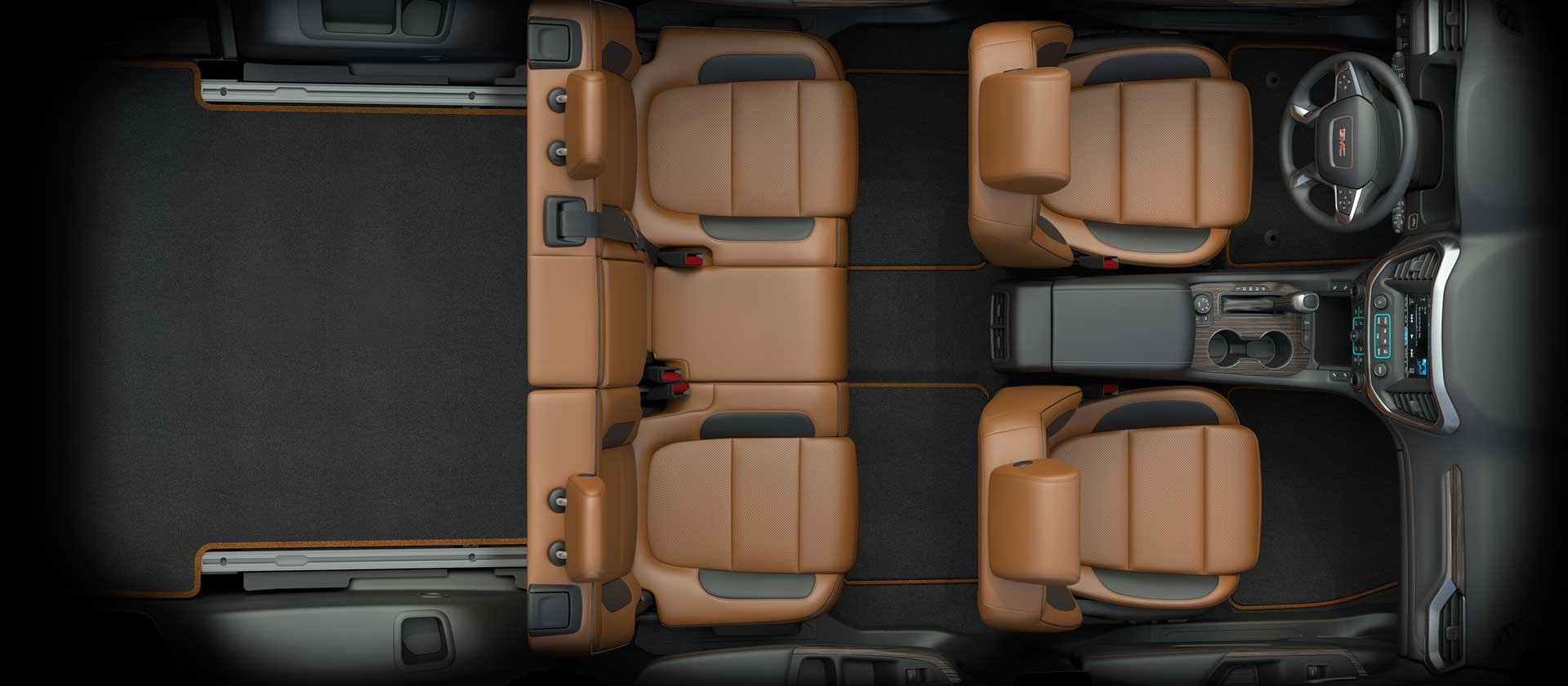 It May Be The Smallest In Its Class When Compared To Its Crossover Rivals,  But The 2017 GMC Acadia Has Three Rows Of Seats And Is A Great Family Sized  ...