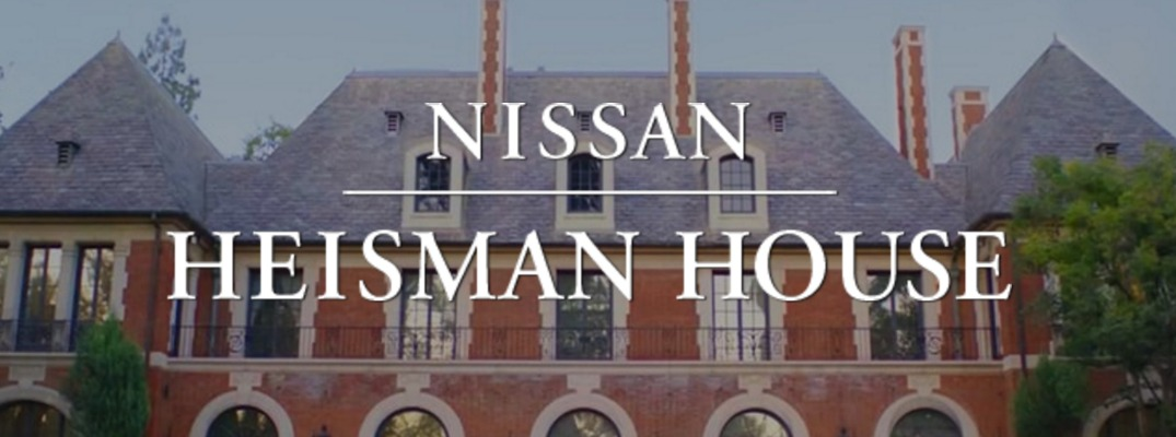 The nissan heisman house returns for 2016 for The house returns